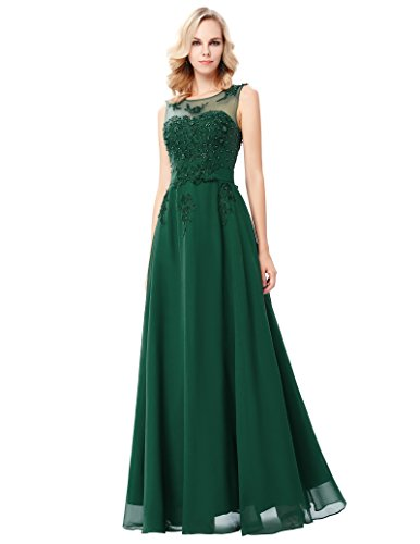 Damen Ballkleid Abiballkleid Swing Kleid 36 CL007555-8
