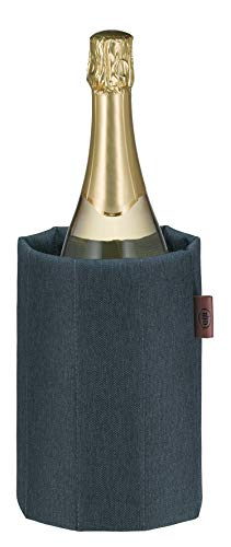 alfi 0007.702.815 Aktiv-Flaschenkühler Premium, Polyester, grau, für Flaschen mit bis zu 1,0 L