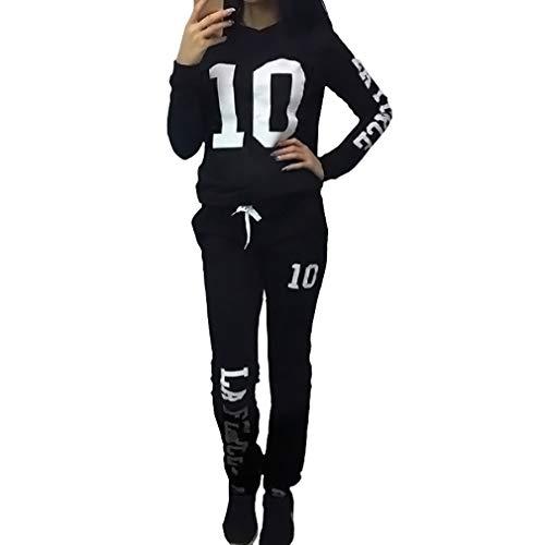Mujer Chandal Ropa Deportiva Suave cómodo Pantalones