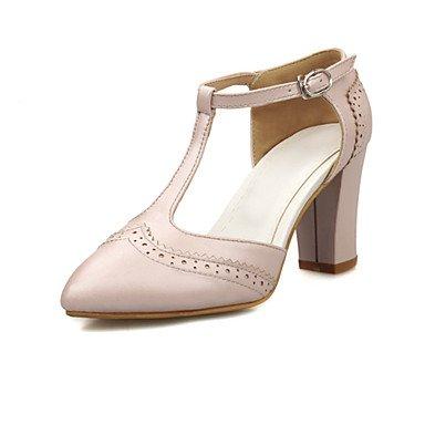Zormey Frauen Heels Frühling Sommer Club Schuhe Formelle Schuhe Komfort Neuheit Kundenspezifischen Materialien Leatheretteoffice&Amp; Karriere Party & Amp; Abendkleid US4-4.5 / EU34 / UK2-2.5 / CN33