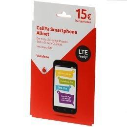 Vodafone Smartphone Allnet (normal und micro-SIM) Prepaid Handy SIM-Karte inkl.