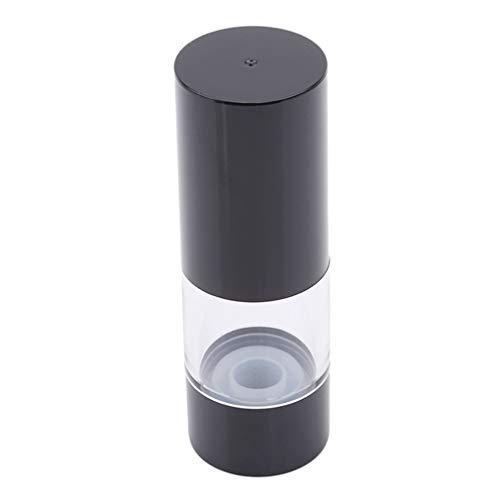 kemai leere Reiseflaschen Pumpspender Shampoo Lotion Flasche, schwarz