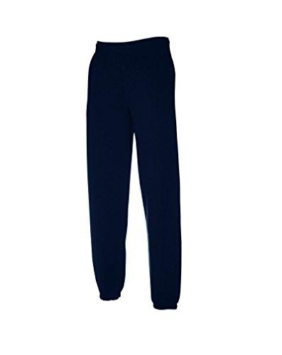 pantalone tuta FRUIT OF THE LOOM felpato con elastico e cordoncino vita tasche ed elastico caviglie gr.280