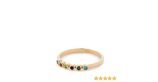 Leonardo Ring Adea f/ür Damen aus vergoldetem Edelstahl