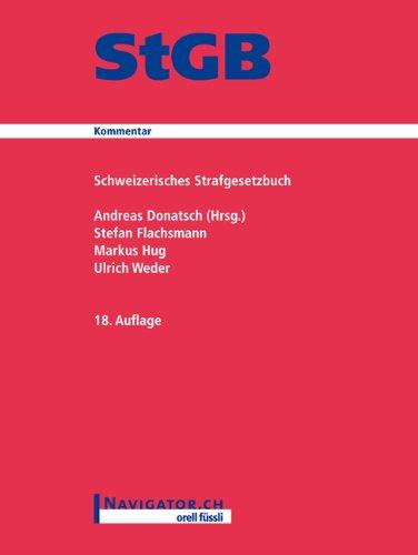 StGB Kommentar: Schweizerisches Strafgesetzbuch