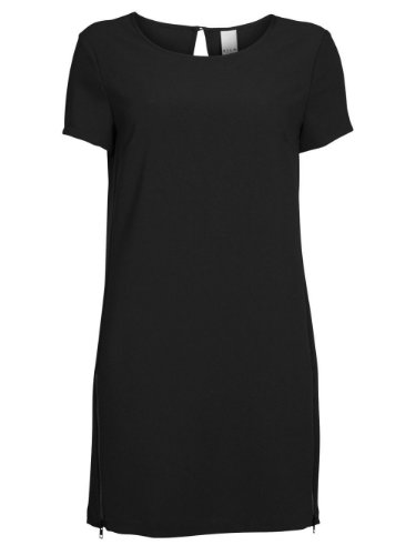VILA–Kleid–Damen Schwarz