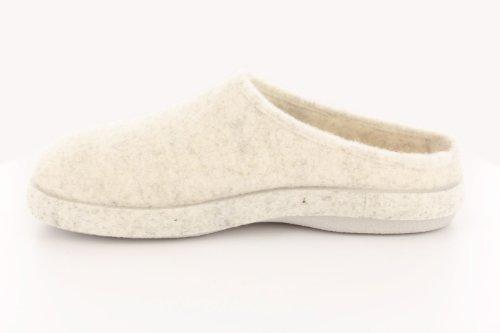 Andres Machado.AM001.AUTHÉNTIQUES chaussons MADE IN SPAIN Unisex.Petites et Grandes Pointures. 26/50 Blanc