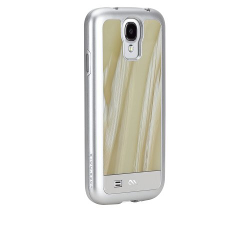 Case Mate CM026870 Premium Crafted Collection Custodia Acetata per Samsung Galaxy S4, Bianco Horn - Italiano Horn