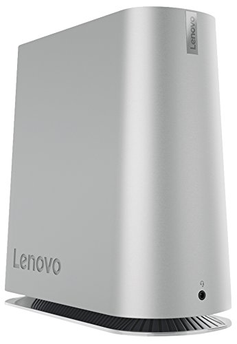 Lenovo IdeaCentre 620S Desktop-PC (Intel Core i3-7100T, 4GB RAM, 1TB HDD, Intel HD Grafik 600, Windows 10 Home) silber
