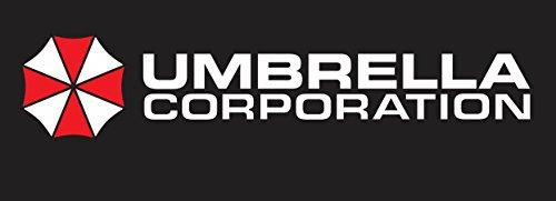2stk Umbrella Corporation Aufkleber Sticker Decal 15x3cm Die Cut Logo JDM Auto Bike Car Resident Evil (Decal Cut Die Logo)