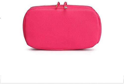 JSPM PU Leather Backpack School Bag Student Backpack Women Travel bag Tuition Bag Backpack (Premium Pink SP-0189) Image 3
