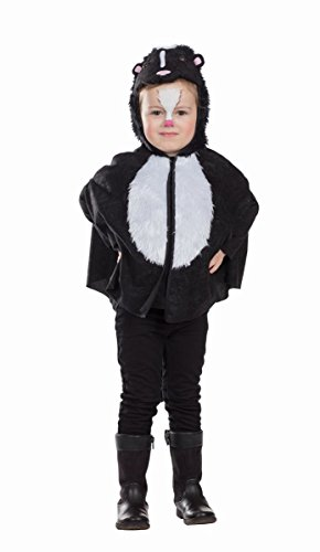 Kinder Kostüm Stinktier Skunk Karneval (Skunk Kostüm)
