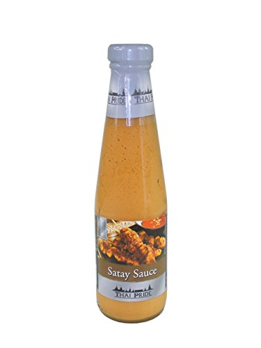THAI PRIDE Satay Sauce 295ml - würzig - Sauce mit Erdnüssen und Chili