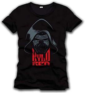 Cotton Division Tshirt Homme Star Wars VII - Kylo REN Hood - Legend Icon