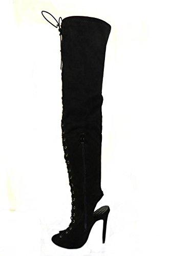 SKO'S, Bottes pour Femme Black (16216)