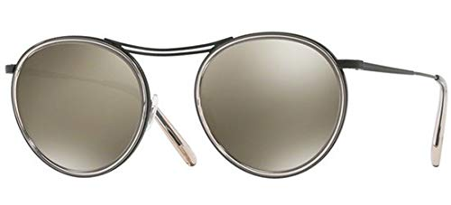 Sonnenbrillen Oliver Peoples MP-3 30TH OV 1219S MATTE BLACK DUNE/GREY GOLDTONE Unisex