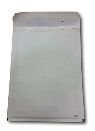 5 Enveloppe a Bulles blanche PRO G/7 240 x 340 mm (intérieur) type G7 enveloppe matelassé blanc 260 x 350 + 50 mm pochette protection expédition envoi objet format A4 livre magazine catalogue ENVB07B