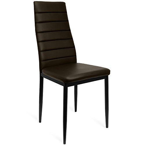 4-ou-Lot-de-6-Chaise-de-salle–manger-cuisine-chaise-fauteuil–dossier-haut-Chaises-Chaise-Chaise-rembourre
