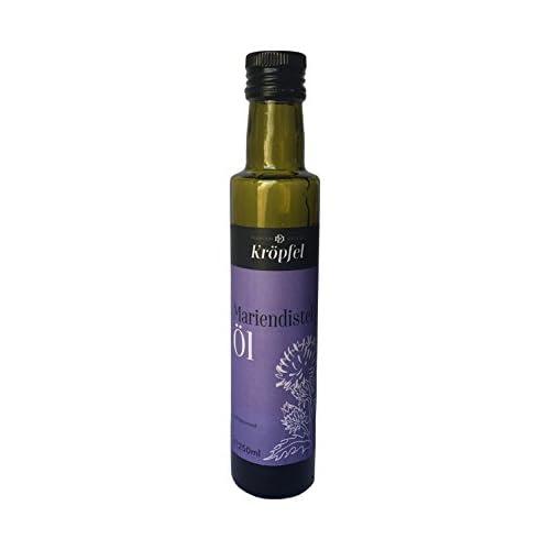 Krpfel Mariendistell Kaltgepresst Nativ 100 Rein Glasflasche 250ml A Qualitt Aus Sterreich