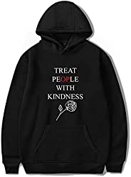 30 STYLES New Harry StylesTreat People With Kindness street hooded circular collar hooded winter hoodies unise