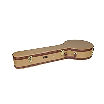 Crossrock CRW600 Basic Series Semi-Acoustic 335 Guitar Case, Multi-ply Wooden Case in Black - acoustic-guitar-cases, musician-bags