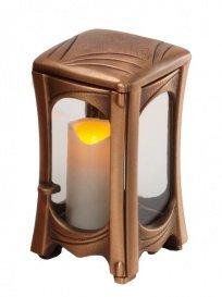 Nostalgisches Grablicht online kaufen - Felina / Bronze / Design 1