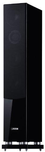 Canton Chrono SL 580 DC 3-Wege Standlautsprecher (130/200 Watt, 1-er Stück) hochglanz-schwarz
