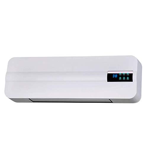 ZZHF Calefactor, Calefactor eléctrico, Ventilador de Pared, baño para el hogar Que Ahorra energía, Calor rápido 570mm × 180mm × 110mm disipador de Calor (Color : Blanco)