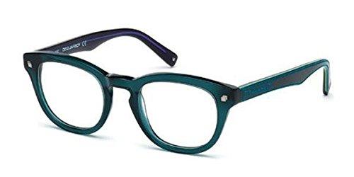 Occhiali da vista per uomo dsquared2 dq5114 096 - calibro 48