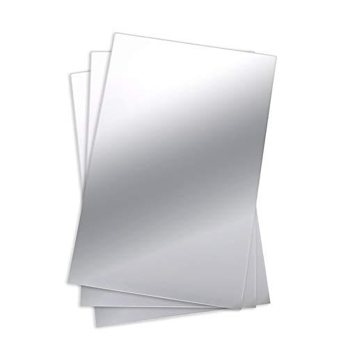 DierCosy Etiqueta Espejo Plano 50 * 100cm Alta reflexión