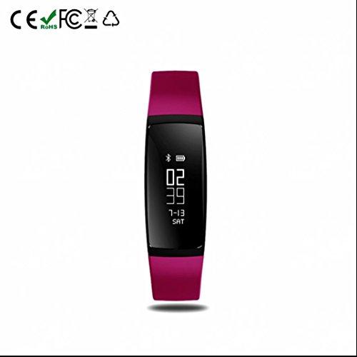 Fitness Armband Fitness Tracker Sport Smartwatch LED Wecker Casual Pulsmesser Übung Tracker Herzfrequenz-Messgerät smart bracelet wasserdichte Stoß Multifunktionale mit iPhone und Samsung Android Geräte usw