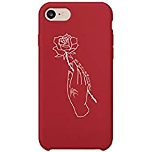 Shawn Mendes Romantic Quote Rose iPhone 6 7 8 X Plus Phone Case Cover Estuche para