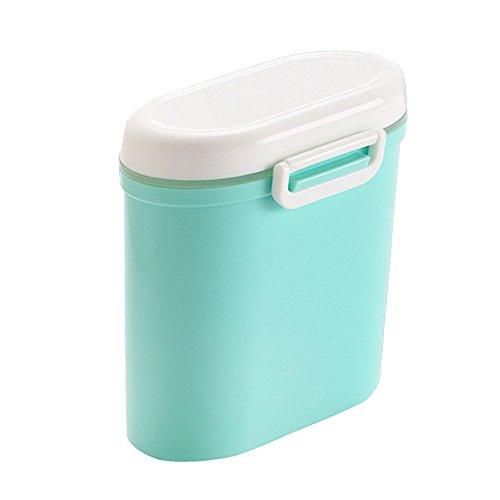 Dispenser per tatte in polvere, contenitore per latte in polvere per neonati, senza bpa, conservazione alimenti, contenitore per frutta in caramelle, contenitori per snack, per bambini piccoli