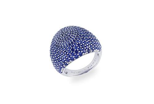 Vilmas Vita Opera Ring Sprinkle Beerenfarben 925 Sterling Silber Rosé Vergoldet Rhodiniert 292 Zirkonia Berry, Ringgröße (Durchmesser):56 (17.8 mm Ø)