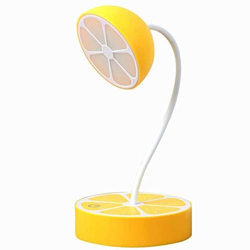 GENGJ-lampe Obst Cartoon LED Kreative Tischlampe Augenschutz USB Lade Touch DREI Blöcke Zum Lesen Nacht Lesen Nachttischlampe