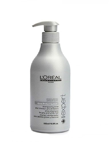 Loreal Silver Glanz-Shampoo + Pumpe 1 x 500 ml Serie Expert Gloss Protect System by L'Oréal Paris - 2