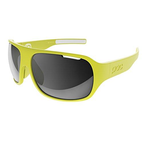 POC Do Flow Gafas de Sol, Unisex Adulto, Amarillo (Unobtanium Yellow), Talla Única