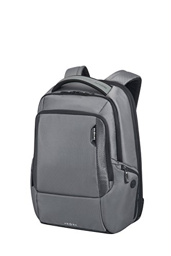 Samsonite Cityscape Tech LP Zaino 15.6' Espandibile, Nylon, Steel Grey, 30 ml, 46 cm