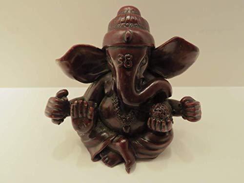 Ganesha Skulptur von Gott Ganesh Indien Keramik Hinduismus Elefanten Überflutungskunst Wissenschaft Hindu-Religion Mythologie Reisen Reisende Yoga Meditation Artisan Tempel