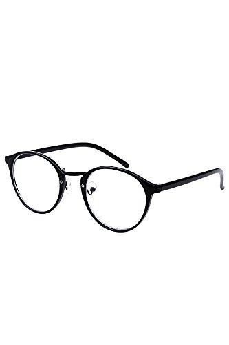 Vococal - Montatura Occhiali da Vista Occhio Frame Struttura Vetri Ottici Pianura Occhiali con Lenti Trasparenti per Donne Signore Ragazze