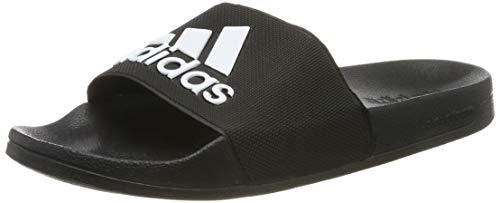 Adidas adilette shower, scarpe da spiaggia e piscina uomo, nero (negro 000), 43 1/3 eu