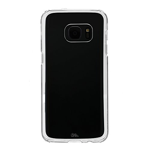 Case-Mate Naked Tough Case für Samsung Galaxy S7 in transparent - von Samsung zertifizierte Schutzhülle [Extrem robust | Stoßabsorbierend | Transparent | Hybrid | Tasten in Metall Optik] - CM033940 -