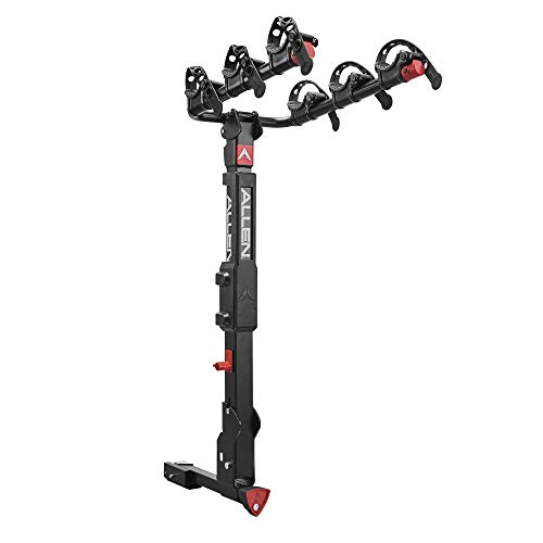 Premier Locking Quick Release 3-Bike Carrier for 2 in. and 1 1/4 in. Hitch (Receiver Hitch Bike Rack)
