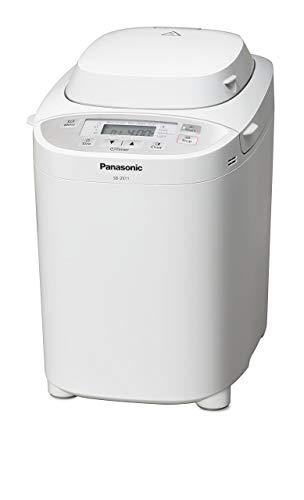 Panasonic Brotbackautomat SD-2511WXE (Brotbackmaschine, 33 Programme, Knethaken, Brotbackautomat, Bread Maker, Brotbackautomat glutenfrei, weiß)