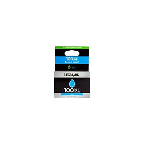 Preisvergleich Produktbild Lexmark 14N1069E Tintenpatrone Tintenpatrone für Tintenstrahldrucker Cyan (Cyan, Lexmark S305, S405, S505, S605, Pro205Pro705, Pro205, S815, Pro905, Tintenstrahl, 40g)