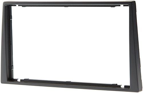 Aerzetix - Autoradio Adapter Radio Blende Autoradio Rahmen Adapter ISO 2DIN dunkel grau