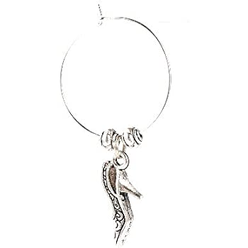 Silber Messing 10mm Perlenkappen Paket 50 HA12650 Charming Beads