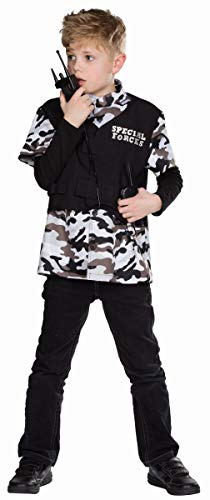 Mottoland Kinder Kostüm Special Forces Soldat Uniform Karneval Fasching Gr.128 (Kostüm Forces Special Kind)
