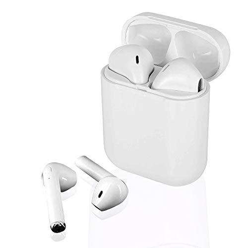 Auriculares Bluetooth,Auriculares inalámbricos Bluetooth 5.0 Sonido Estéreo Auricular Mini Twins In-Ear Auriculares Bluetooth para iOS Samsung Xiaomi Smartphone Android