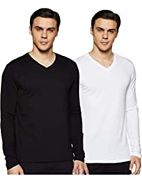 Amazon Brand - Symbol Men's Plain Regular fit T-Shirt (Combo Pack of 2)